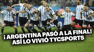 Brasil 2014: Así festejó TyC Sports el pase a la final