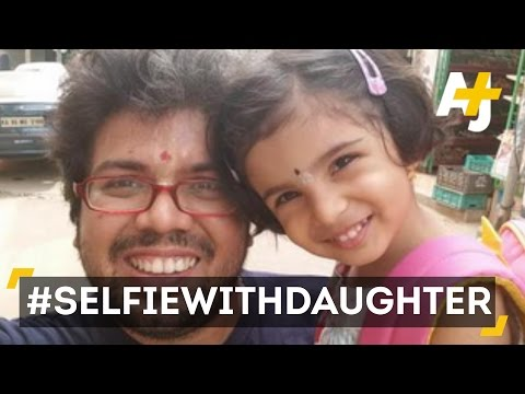 Xxx Mp4 Indians Post Selfie With Daughter Pics To Combat Sex Selective Abortion 3gp Sex