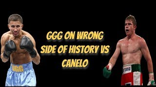 GGG On WRONG Side Of History vs Canelo & BS OF BOXING SCORING
