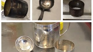Clean silver, removing tarnish instantly without polishing or harsh chemicals - a few more items