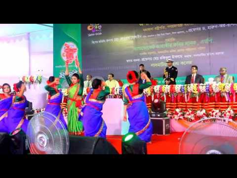 Salam Bangladesh -( Lalmatia Mohila College  Suborno joyonti2016)