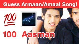 Armaan Malik Songs Emoji Challenge! Guess Bollywood songs of Malik Brothers