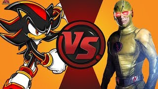 Shadow the Hedgehog vs Reverse Flash! Cartoon Fight Night Episode 8