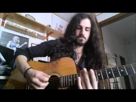 YNGWIE J. MALMSTEEN - Black Star - acoustic intro cover by Valerio De Rosa