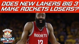 If Lebron Joins Lakers Are The Rockets The Biggest Loser ? | Hoops N Brews