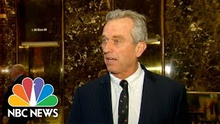 Robert F. Kennedy Jr. To Chair Commission For Donald Trump On Vaccine Safety   NBC News