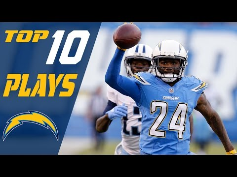 watch Chargers Top 10 Plays of 2016 | NFL Highlights