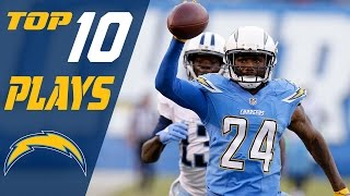 Chargers Top 10 Plays of 2016 | NFL Highlights