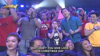 Darren Espanto sings Give Love On Christmas Day in Singing Mo To