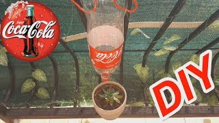COCA COLA  Bottle Drip Water Irrigation System Very Simple DIY HOMEMADE