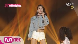 [Produce 101] 1:1 EyecontactㅣJeon So Mi - ♬BANG BANG @ Position Eval.(DANCE) EP.07 20160304