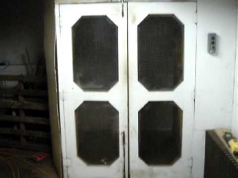 Old Freight elevator warehouse in Hillsville VA