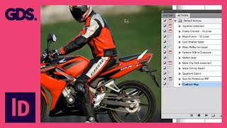 Photoshop Action / Image Processing In Adobe Bridge - Ep2/13 [Adobe InDesign For Beginners]