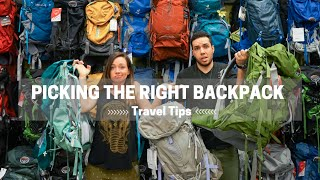 How to Pick the Right Travel Backpack