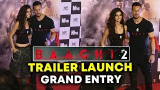 Baaghi 2 Trailer Launch GRAND ENTRY By Tiger Shroff And Disha Patani
