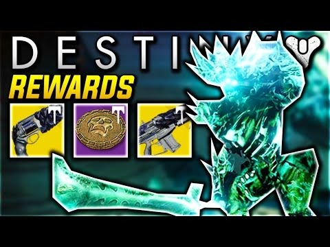 Destiny NEW CROTA S END RAID REWARDS Destiny Crota s End Challenge Mode LOOT