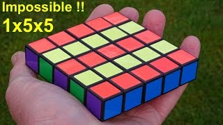Tony Fisher's *IMPOSSIBLE* 1x5x5 (fully functional correctly proportioned cuboid puzzle)