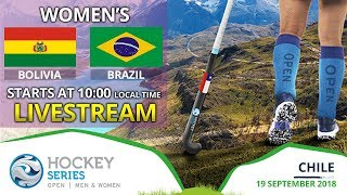 Bolivia v Brazil | 2018 Women's Hockey Series Open | FULL MATCH LIVESTREAM