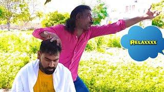 Asmr Cosmic Baba head massage( Travel series video)