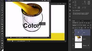 Adobe Photoshop Cs6 tutorial in bangla  worp text 43