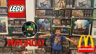 LEGO!!! The Lego Ninjago Movie Premiere! Shopping At The LEGO STORE! Getting Lego Toys At Mcdonalds!