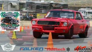 Mike Maier autocrosses the Wilwood 'Workhorse' Mustang - Del Mar Goodguys