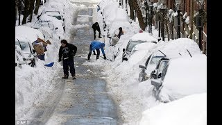 BREAKING Global Warming ??? Early Winter Snow Storm creates Transportation CHAOS 11/16/18
