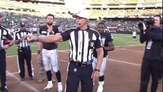 Ed Hochuli calls Oakland Raiders Los Angeles, oops!