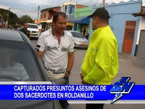 Capturados presuntos asesinos de 2 sacerdotes en Roldanillo