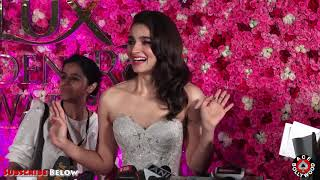 Cute Alia Bhatt Talks About Her Marriage Plan At the Lux Golden Rose Awards 2018