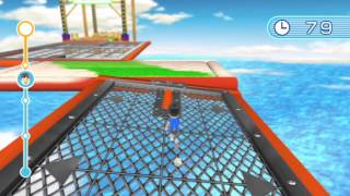 [Wii Fit U] Ultimate Obstacle Course Gameplay