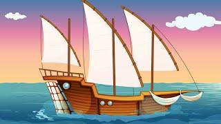 Un vapor - Cântece pentru copii | TraLaLa