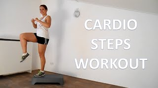 10 Minute Steps Cardio Workout Routine At Home