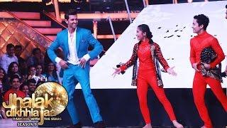 Hrithik Roshan DANCES On Jhalak Dikhhla Jaa 9 Finale | Kaabil Promotion