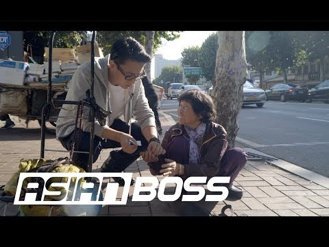 We surprised a Korean grandma living on 2 a day ASIAN BOSS