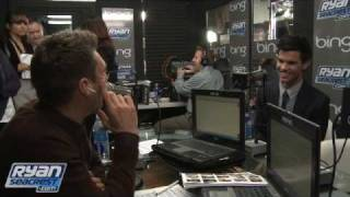 Taylor Lautner Discusses Eating For New Moon | Interview | On Air With Ryan Seacrest
