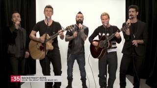 Backstreet Boys - Show 'Em What You're Made Of in 60 seconds