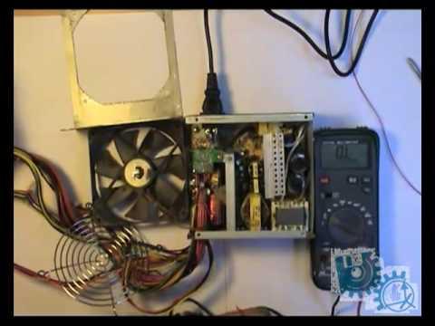 Reutilizar una fuente de alimentación de ordenador. Parte 1