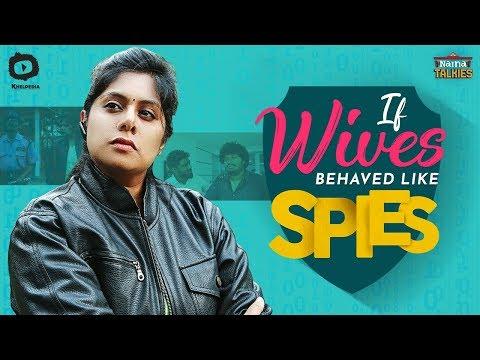 Xxx Mp4 If Wives Behaved Like Spies Naina Talkies Comedy Web Series Latest Telugu Web Series Khelpedia 3gp Sex