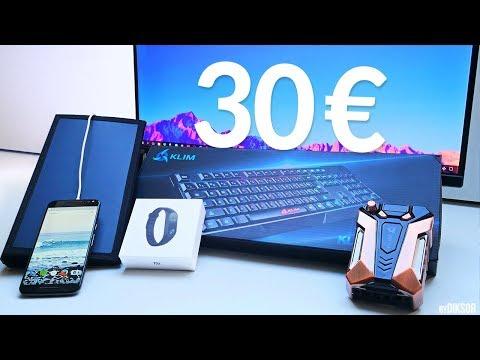5 Objets High-Tech Pas Chers à moins de 30€!