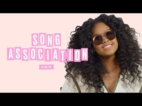 H.E.R Sings Aaliyah, Adele, and Aretha Franklin in a Game of Song Association | ELLE
