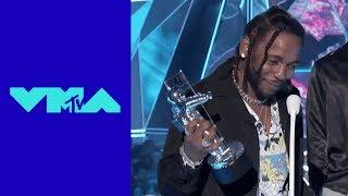 Kendrick Lamar Wins 'Video of the Year' Award | 2017 VMAs | MTV
