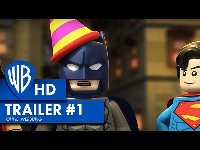 LEGO DC SUPER HEROES: JUSTICE LEAGUE: Gefängnisausbruch in Gotham City - Trailer HD (2016)
