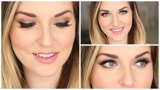 Satin Taupe Makeup Tutorial⎪Girl Abroad✈
