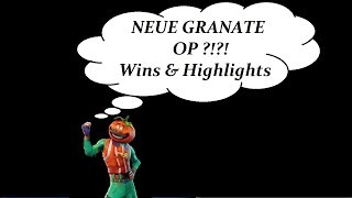 Sieg durch NEUE HAFTGRANATE! Lustige Clips,Kills & Mehr - Fortnite Battle Royale Highlights #2