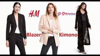 H&M 2017 Blazer & Kimono #SenFarklısın