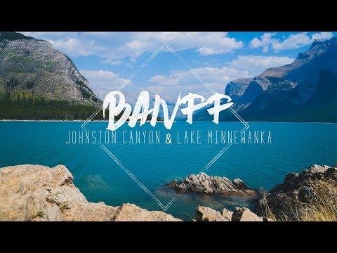 Banff Day 2 Johnston Canyon and Lake Minnewanka