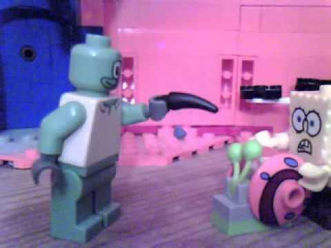 lego spongebob i was a teenage gary