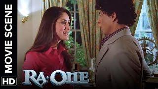 Kareena Kapoor get abusive with Shah Rukh Khan | RA.One | Movie Scene