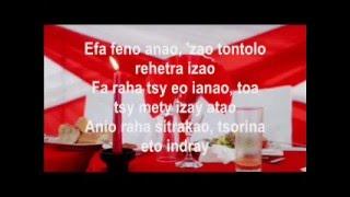 Marion-Feno anao (lyrics)